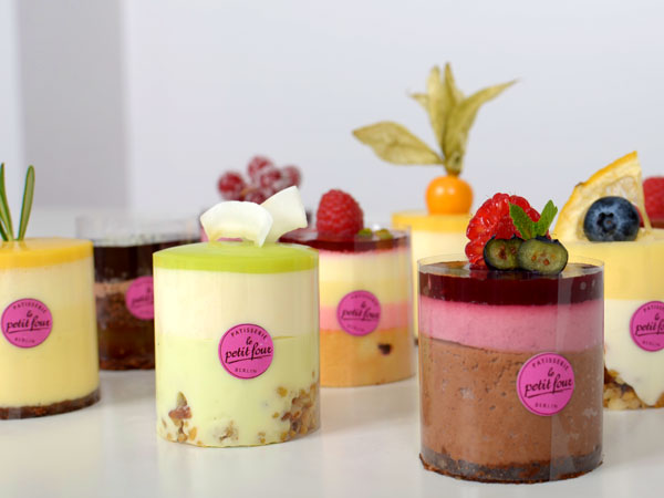 Leckere Petit Fours in 1000 Variationen
